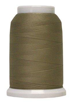 Polyarn flocked polyester Serger Thread Khaki