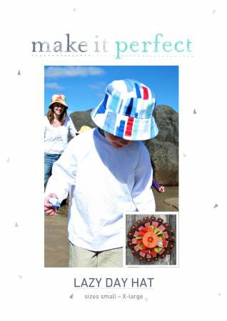 Lazy Day Hat pattern by make it perfect