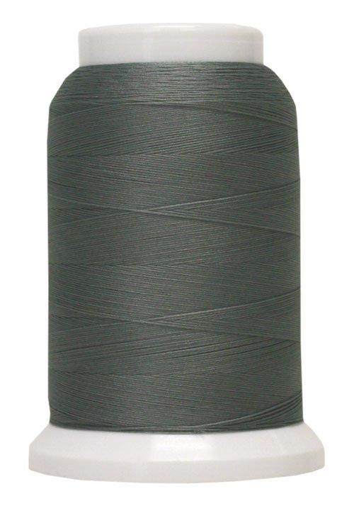 Polyarn flocked polyester Serger Thread Light Gray