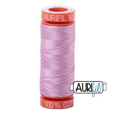 Aurifil Mako 50wt Solid 219yds - LIGHT ORCHID 2515