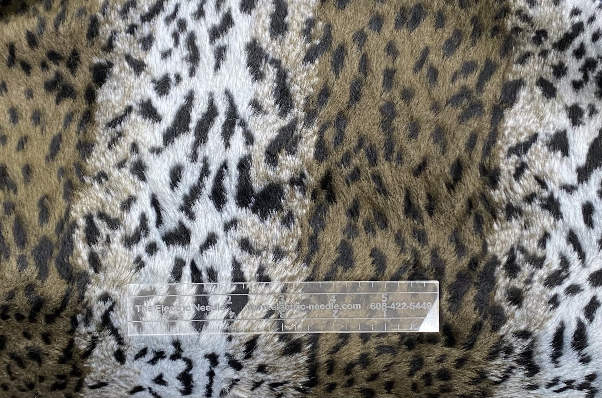 Animal Print Faux Fur - Low Pile