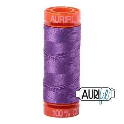 Aurifil Mako 50wt Solid 219yds - MAGENTA 2535
