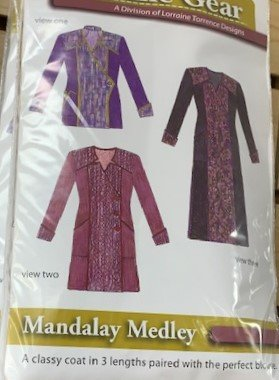 Grainline Gear - Mandalay Medley Jacket