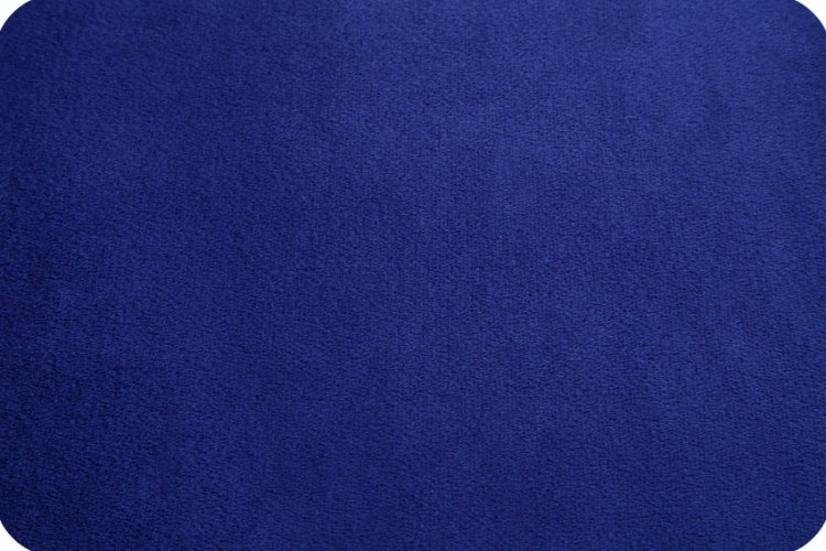 Cuddle Fabric - Solid Midnight Blue 88 Wide