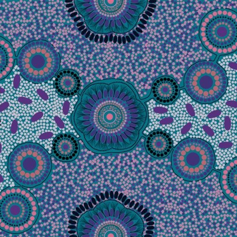 Aboriginal Meeting Places Blue