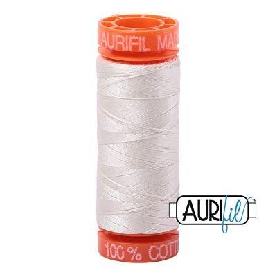Aurifil Mako 50wt Solid 219yds - MUSLIN 2311
