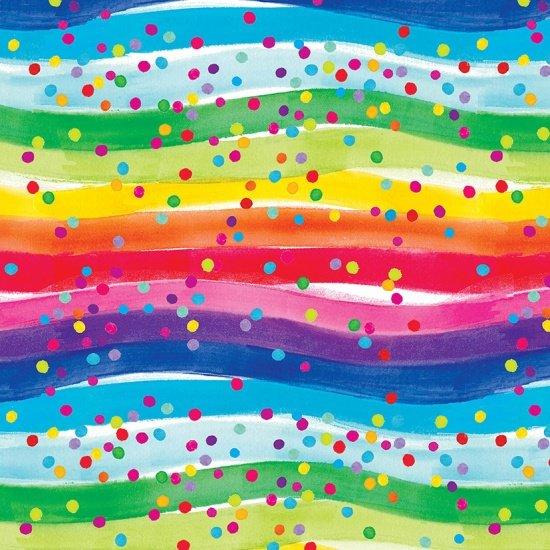 Comfy Flannel Rainbow Stripe