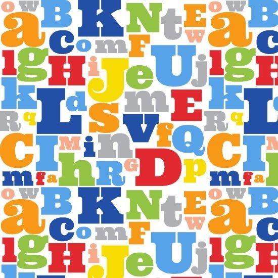 Comfy Flannel Alphabet