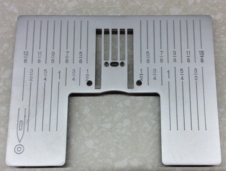 Pfaff New Straight Stitch Plate - J  platform