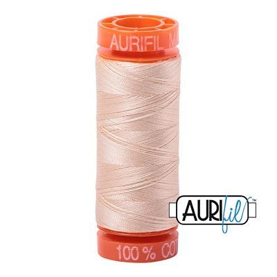 Aurifil Mako 50wt Solid 219yds - PALE FLESH 2315
