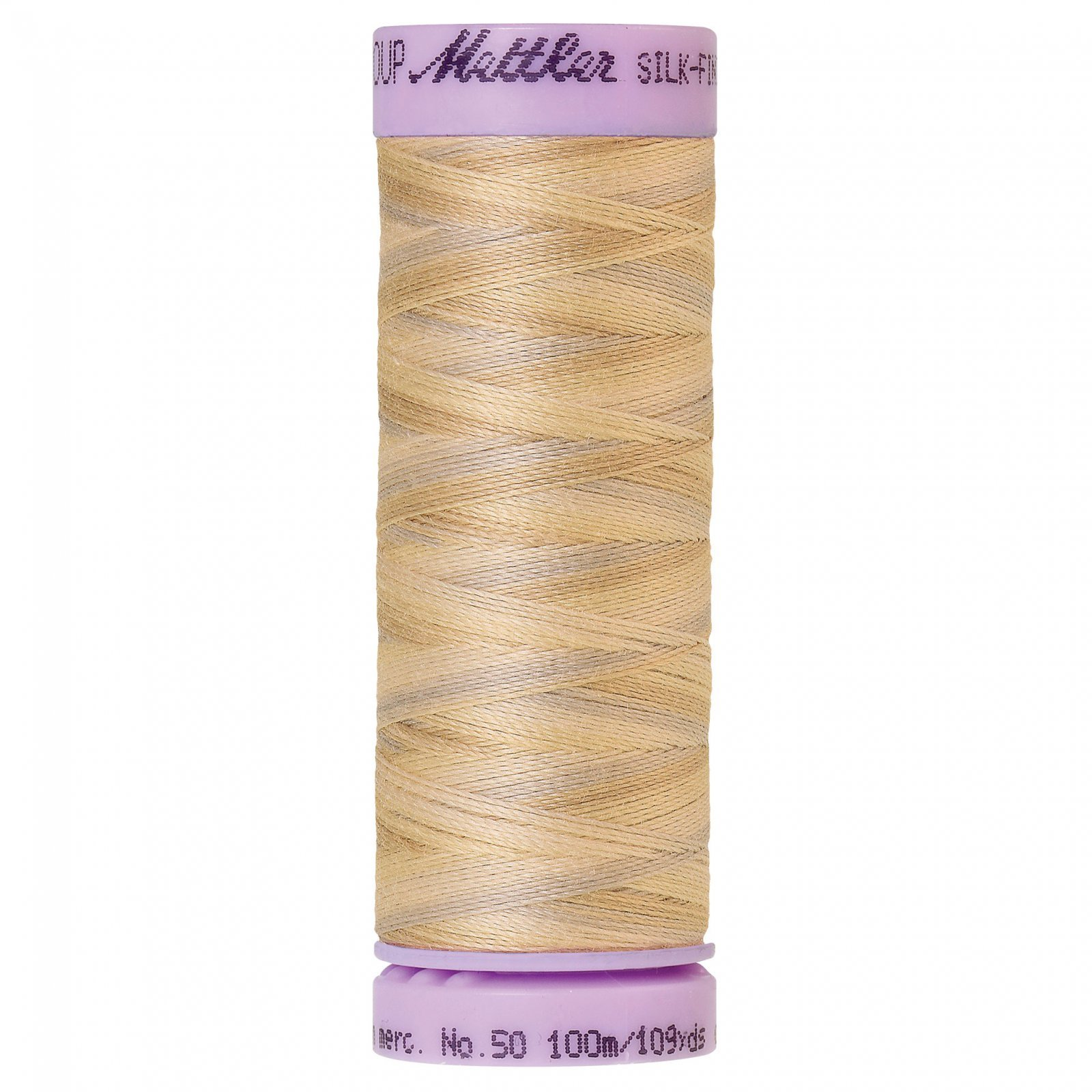 Silk Finish cotton 50wt 109 yards Pearl Tones