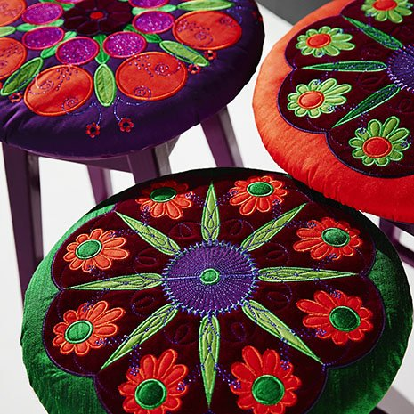 Pfaff Garden Of Applique Embroidery Design