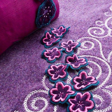 Pfaff Floral Needlework Embroidery