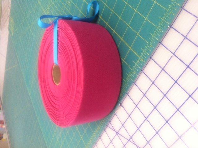 3 inch Pink Elastic