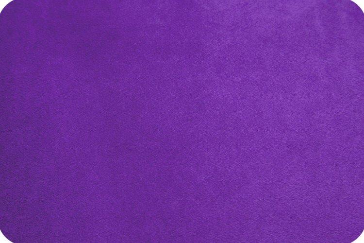 Cuddle Fabric - Solid Purple 58 Wide