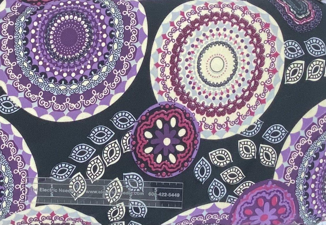 Purple Pattern Lycra