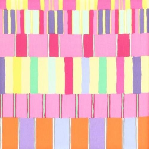 Kaffe Fassett - Artisan Layered Stripe Pink PWKF003.PINKX