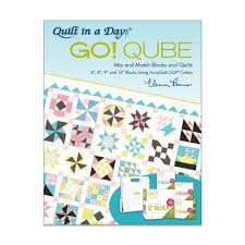 Accuquilt Go! Qube book Mix and Match Blocks and Quilts 6 8 9 and 12 blocks