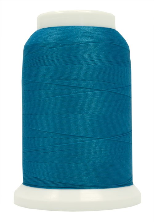 Polyarn flocked polyester Serger Thread Radiant Turquoise