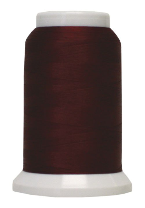 Polyarn flocked polyester Serger Thread Red Currant