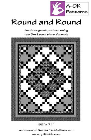 5 Yard Quilt Pattern - Round and Round