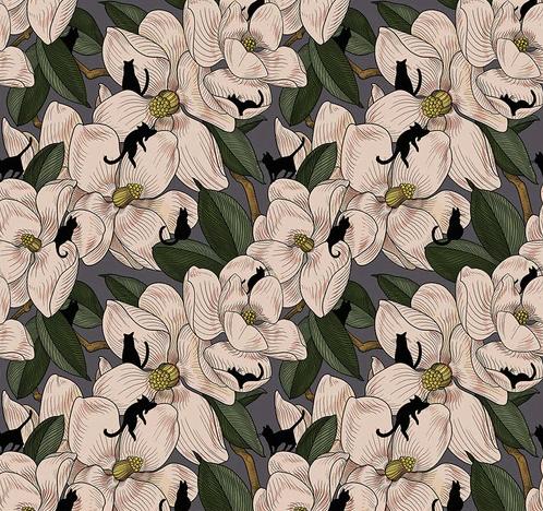Magnolia Garden - Natural