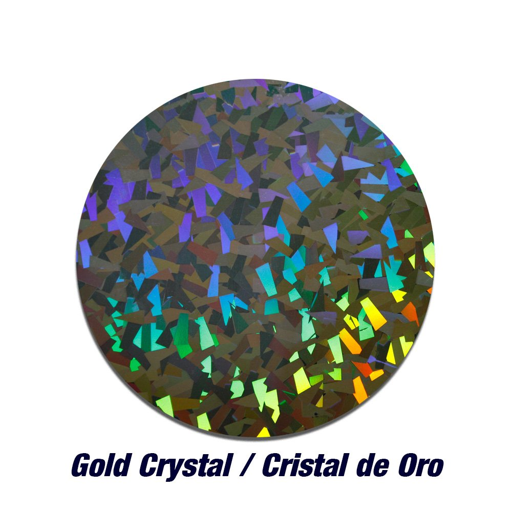 Siser Holographic Gold Crystal Heat Transfer vinyl