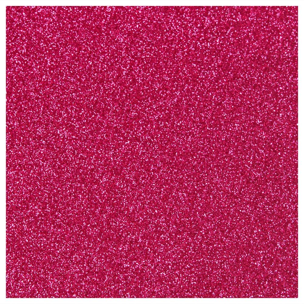 Siser Glitter Hot Pink Heat Transfer Vinyl