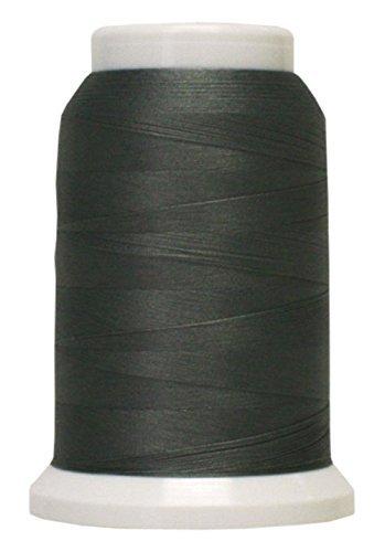 Polyarn flocked polyester Serger Thread Steel