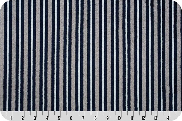 Cuddle Fabric - Plain Stripe 58 wide