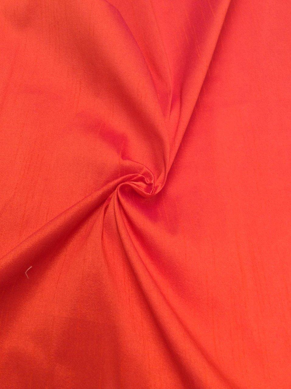 Red/Orange Taffeta