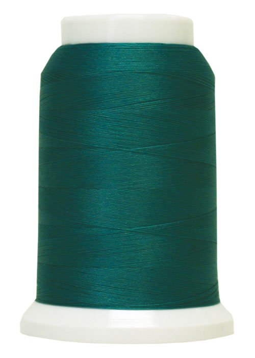 Polyarn flocked polyester Serger Thread Teal Green