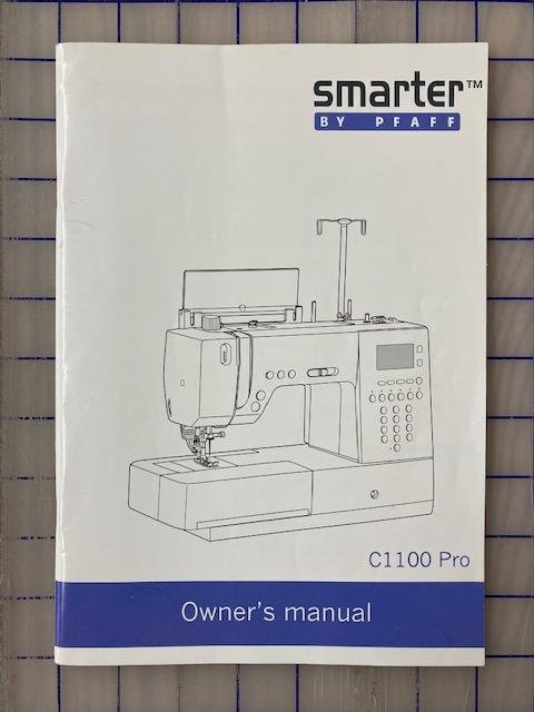 Owner's Manual c1100 Pro