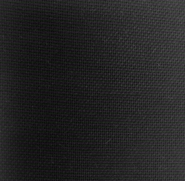 Black Solid 20x27in Towel