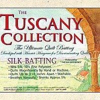 Hobbs Tuscany collection wool batting 96 wide