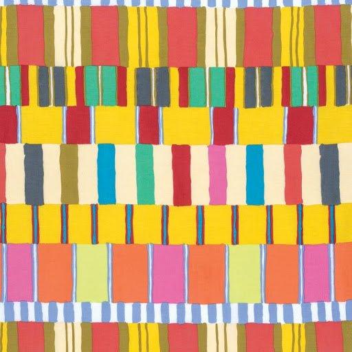 Kaffe Fassett - Artisan Layered Stripe Yellow PWKF003.YELLO