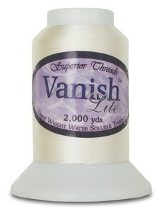 Vanish Lite Water Soluble Thread 2000yds