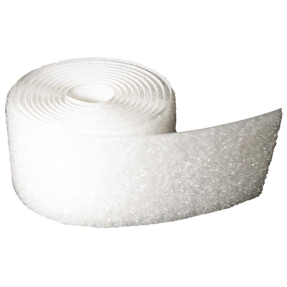 Sew-on Loop - White - 3/4 inch