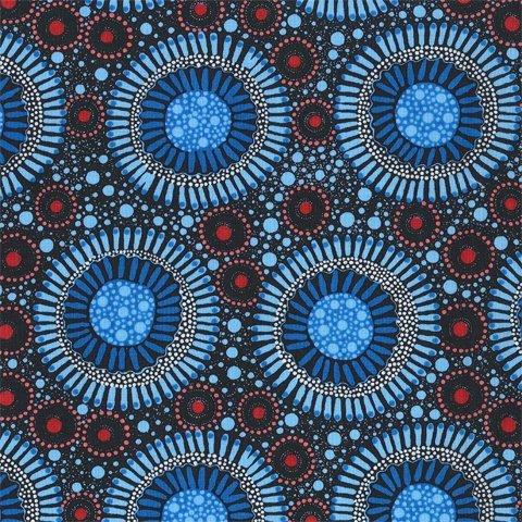 Aboriginal Wild Flora Baby Blue