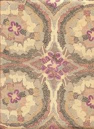 Aboriginal Women Dreaming Burgundy Fabric