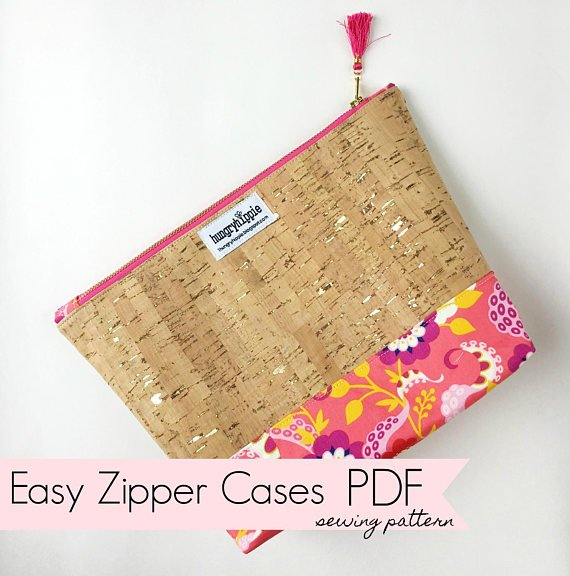 Easy Stand Up Zip Cases