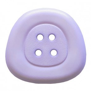 *POLYAMIDE TRAPEZOID FOUR-HOLE BUTTON//LILAC//1 - 25MM//WASHABLE - DRY CLEANABLE//DILL BUTTONS