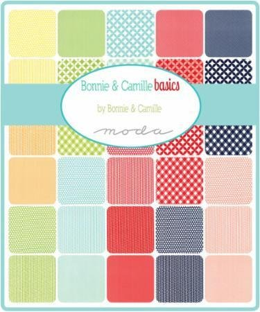*BONNIE & CAMILLE BASICS//10 LAYER CAKE//MODA