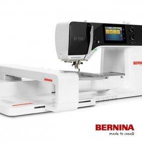 *B 590E//SEWING EMBROIDERY MACHINE//BERNINA