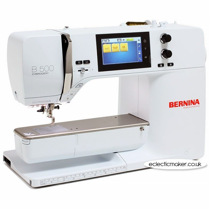 *B 500 EMBROIDERY ONLY-WITHOUT MODULE SEWING MACHINE//BERNINA