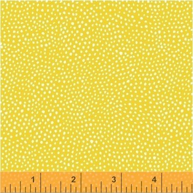 *PAINT THE TOWN//PIN DOTS//YELLOW//STRIPED PEAR STUDIO//WINDHAM FABRICS