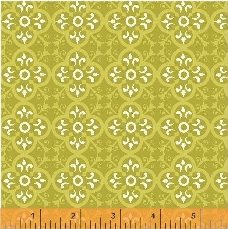 *BUNGALOW//VINTAGE TILE//APPLE//AMY GIBSON//WINDHAM FABRICS