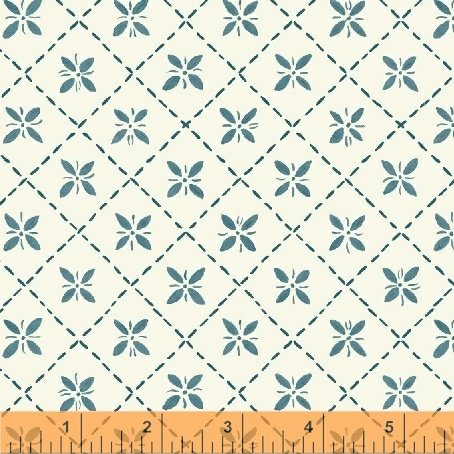 *BUNGALOW//PINTUCK//TEAL//AMY GIBSON//WINDHAM FABRICS