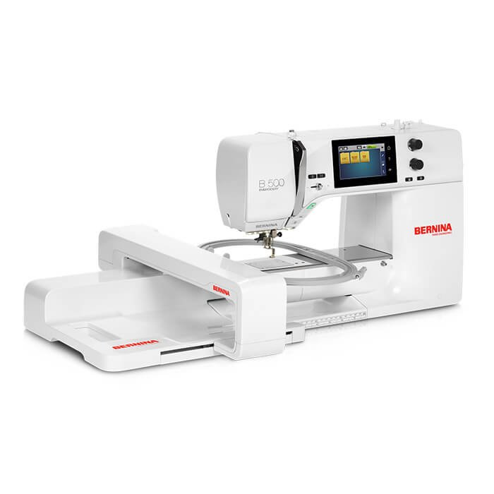 *B 500E EMBROIDERY ONLY-WITH MODULE SEWING MACHINE//BERNINA
