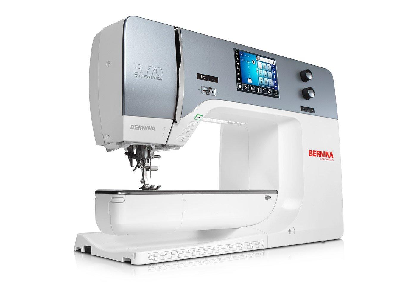*B 770 QE WITHOUT MODULE//SEWING MACHINE//BERNINA